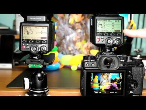 Fuji Guys - Fujifilm X-T2 - External Shoe Mount Flash Settings - EF-X500