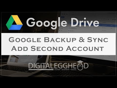 Add A Second Account To Google Backup & Sync