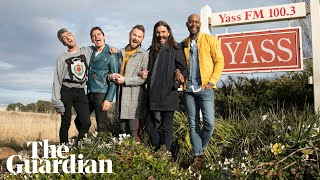Queer Eye: fab five made honorary 'Yass queens' by town's mayor -  video