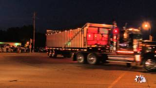 Eau Claire Big Rig Truck Show 2015 (Light Parade)