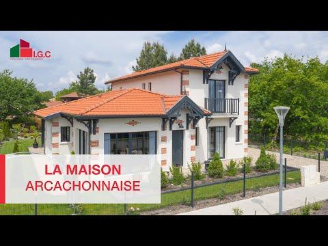 La Maison Traditionnelle A Arcachon Youtube