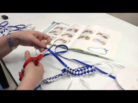 Crankin Out Crafts Ep467 Braided Ribbon Lei Youtube
