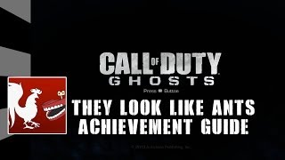 Call of Duty: Ghosts - They look like ants Guide
