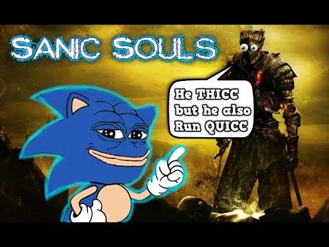 Sanic Souls™ 2x Speed Challenge ALL CONTENT - Dark Souls 3