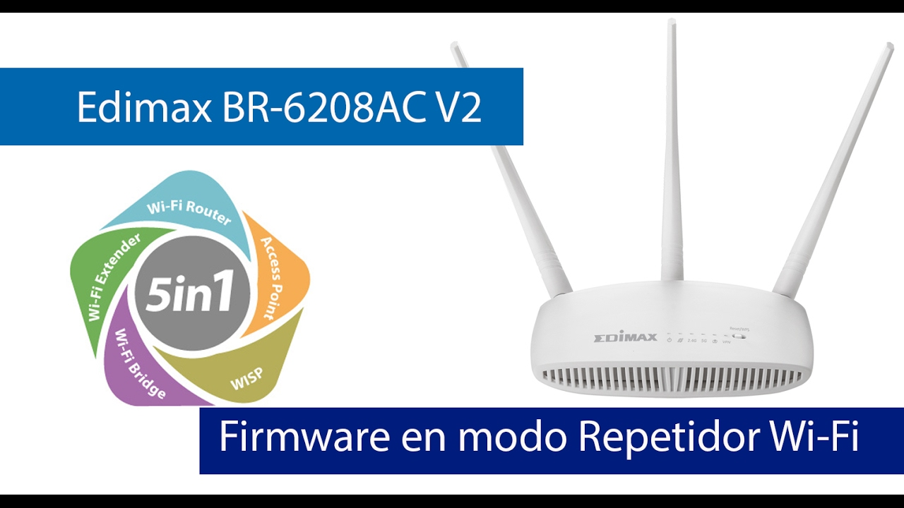 Edimax BR-6208AC Range Extender Linux