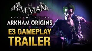 batman arkham origins e3 gameplay reveal trailer