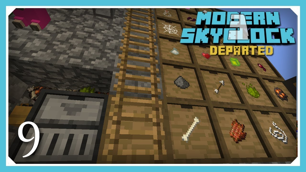 Modern Skyblock 3 Departed   Basic Farming And Automation!   E9 (Modern  Skyblock 3 Gated)