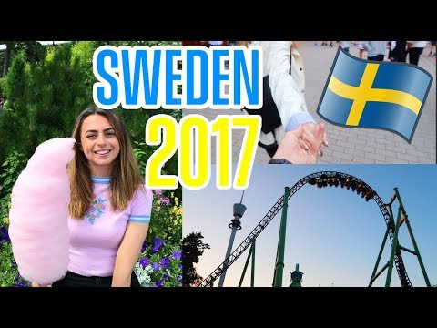 SWEDEN TRIP! We Found Sweden's Own DisneyLand?! | Sophie Foster