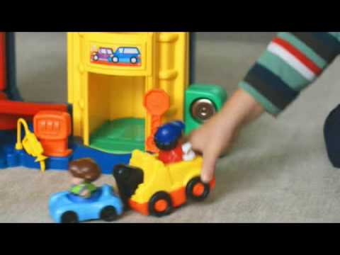 World Of Little People Racing Ramps Garage Toys R Us