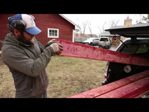 Milling Red Cedar with Linscott's Local Hardwoods