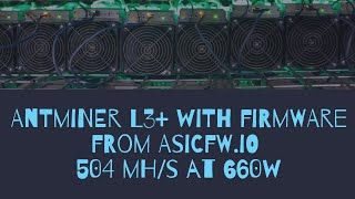 Antminer D3 Old Firmware