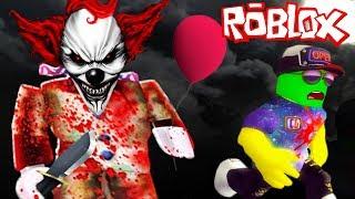 СТРАШНЫЙ КЛОУН 'ОНО' в РОБЛОКС! СПАСАЙТЕСЬ КТО МОЖЕТ! Приключение мульт героя Roblox от Cool GAMES
