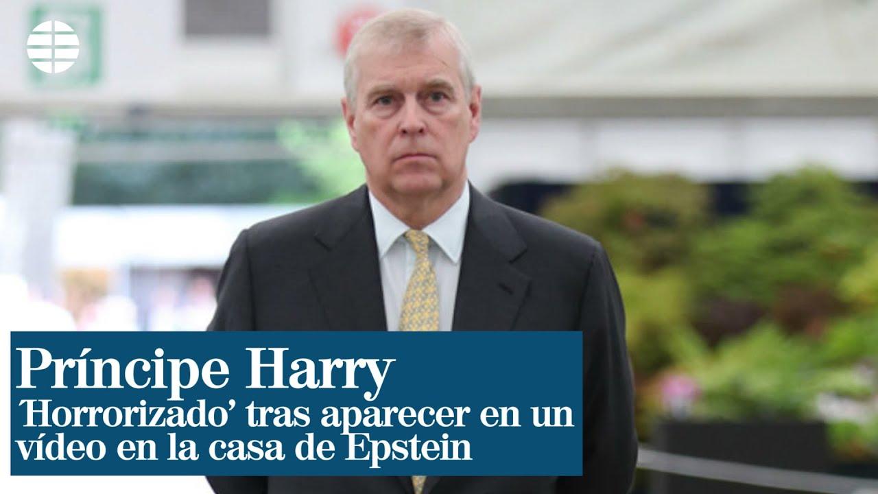 El príncipe Andrés dice estar 'horrorizado' tras aparecer en un vídeo en la 'Casa de los Horrores' de Jeffrey Epstein