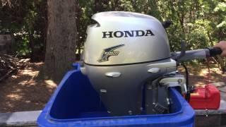 Moteur hors-bord Honda outboard motor  9.9 HP; 2014 Tremolo
