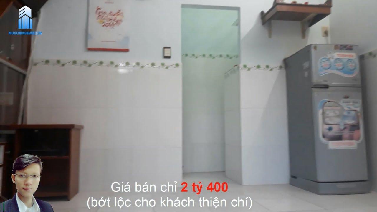 Bán nhà quận Bình Thạnh giá dưới 3 tỷ, hẻm 26 Trần Quý Cáp, cách Mặt tiền 30m