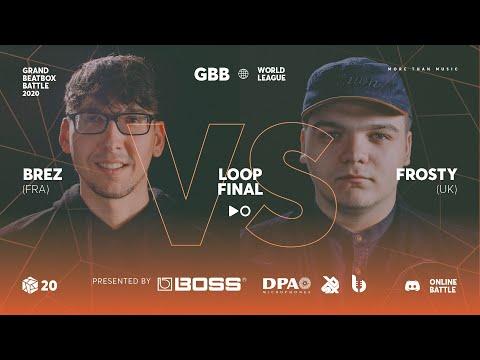 BREZ vs FROSTY | Grand Beatbox Battle 2020 Online Loopstation | FINAL