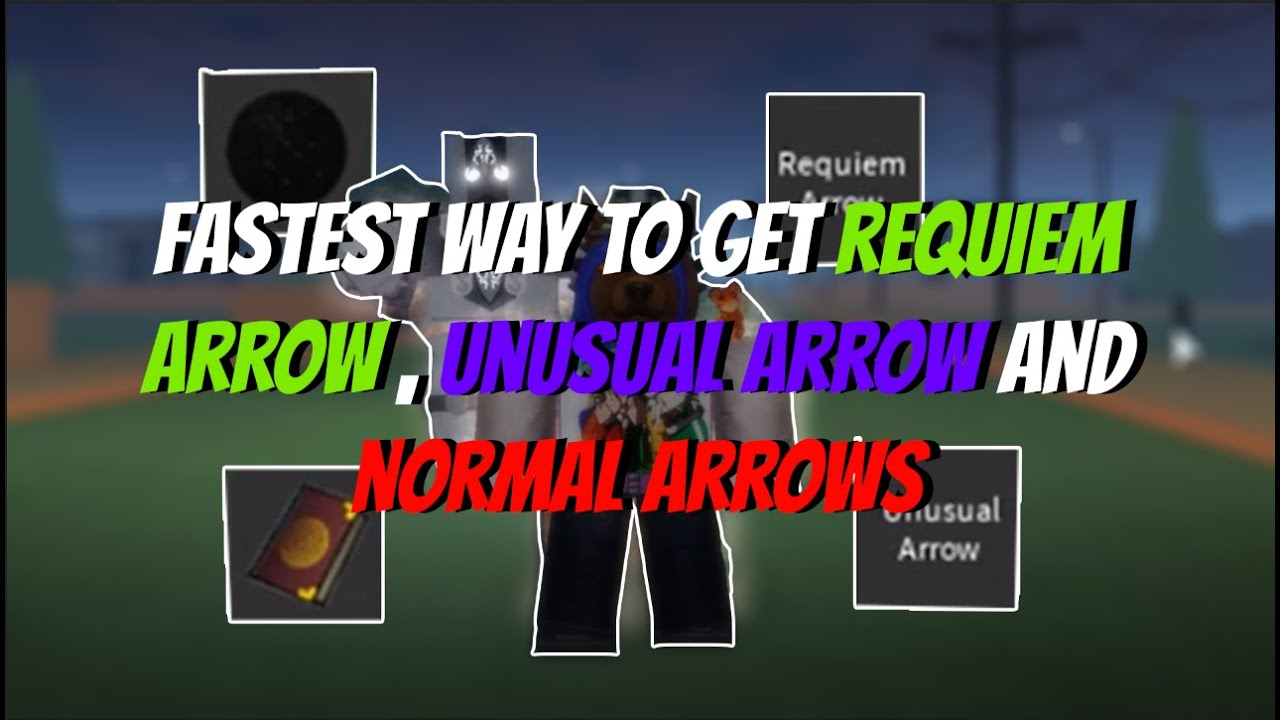 Stand Upright Fastest Way To Get Requiem Arrow Unusual Arrow And Normal Arrow Roblox Youtube It is used in crafting of some final form stands: stand upright fastest way to get requiem arrow unusual arrow and normal arrow roblox