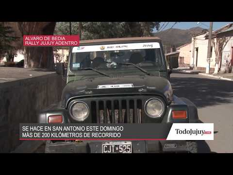 Este domingo San Antonio vibrará con el Rally Jujuy Adentro