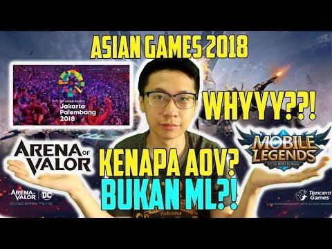 Ini Alasannya! Kenapa AOV Yang Masuk ASIAN GAMES? BUKAN Mobile Legend?