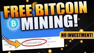 Mine FREE 0.001 Bitcoin daily! (HASHFISH Crypto Miner REVIEW)