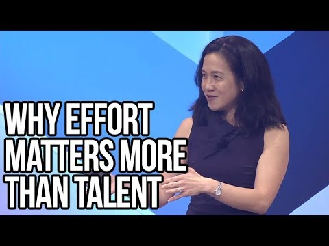 Why Effort Matters More Than Talent | Angela Duckworth