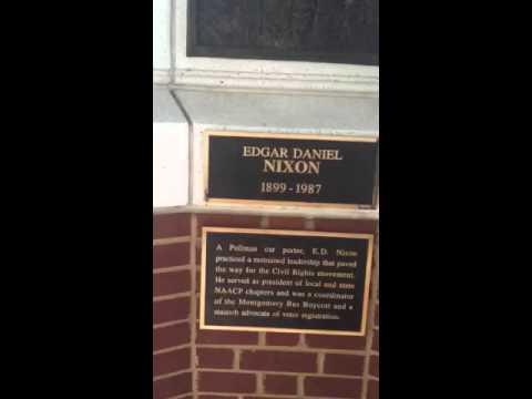 Montgomery, Alabama pays homage to E.D. NIXON