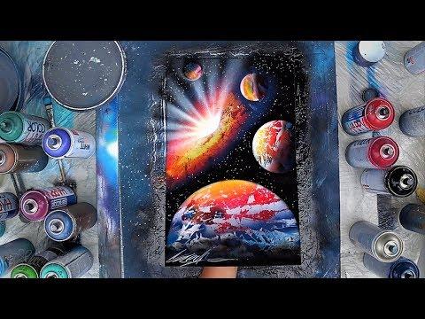 Big Bang  - SPRAY PAINT ART by Skech
