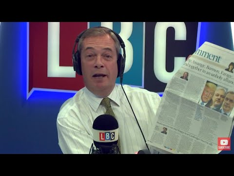 The Nigel Farage Show On Sunday: Catalonia's Declaration of Independence 1/2 LBC - 29th October 2017