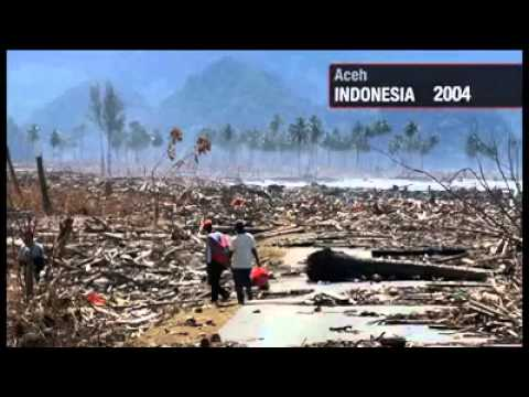 Tsunami 2004 Before - After - YouTube