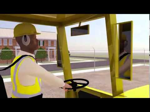 Vehicle Back Over  Prevention Video v Tool  Struck by Accidents in Construction