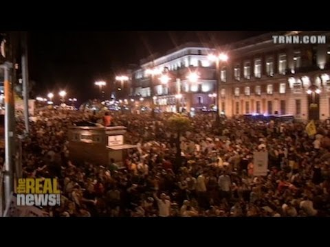 "Spain's ""Indignados"" Mobilize Against Austerity"