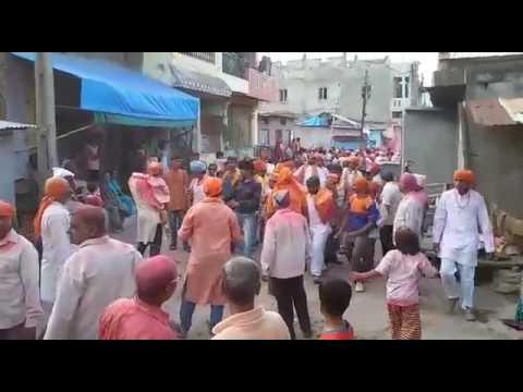 Nandurbar Ganpati utsav Akkalkua Dhol tasha