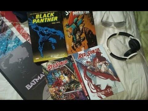Achats Comics/Comic Book Haul - Fevrier 2018 ! Black Panther, Red Sonja, Batman, etc!