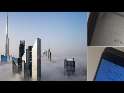 iPhone Falls 40 Feet From A Sky Scraper And Survives Without A Scratch