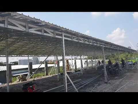 Kanopi Baja Ringan Bekas Semarang Model Tenda Bursa Mobil Bahan Kuat Luas