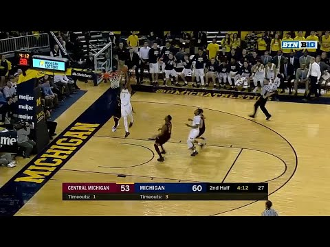 Charles Matthews Steal and Slam vs. CMU