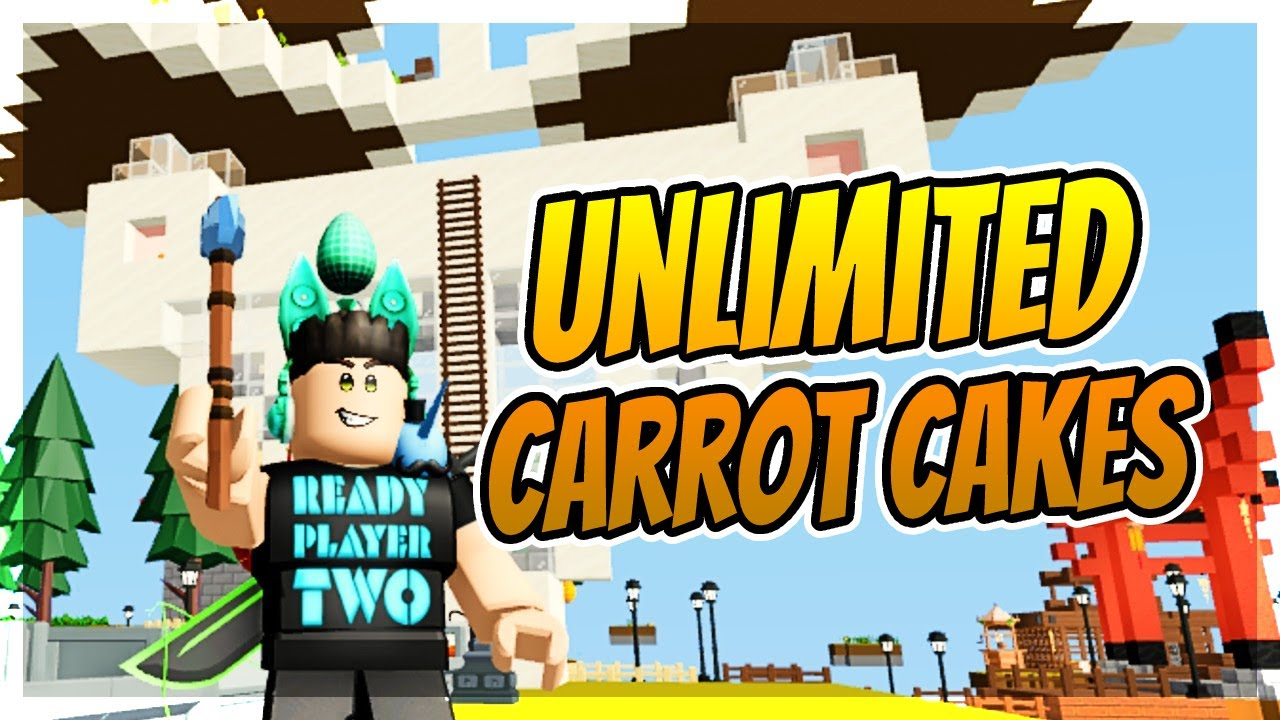 HOW TO MAKE AN OP CARROT CAKE AUTO FARM in Roblox Island...