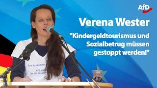 Verena Wester | ❝Wir als AfD schützen das Grundgesetz!❞