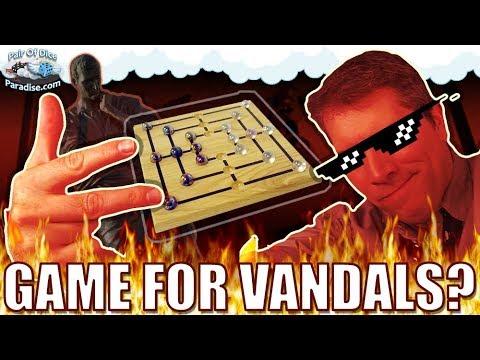 Nine Men's Morris: A Board Game For Vandals?!