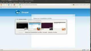 Drupal Custom Install Profile