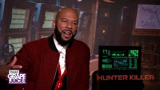 Exclusive: Common Talks 'Hunter Killer'