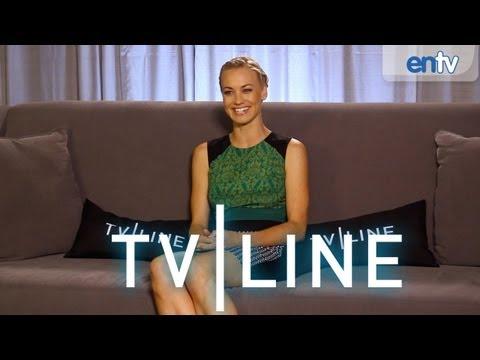 "Yvonne Strahovski Talks ""Dexter,"" ""Chuck"" Movie, ""I, Frankenstein"" at Comic Con 2013"