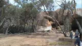 Perth April 6 2012 - Day 3 -- Wave Rock