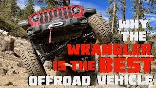 Why the 2018 2019 Jeep Wrangler JL JLU is THE BEST Offroad Veh on the Market! Rubicon Sport Sahara