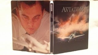 The Aviator SteelBook Zavvi Exclusive Blu-ray Unboxing - (2004) Leonardo DiCaprio/Martin Scorsese