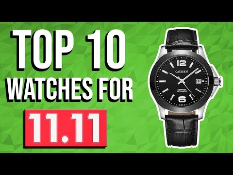 Top 10 watches for 11.11 AliExpress sale