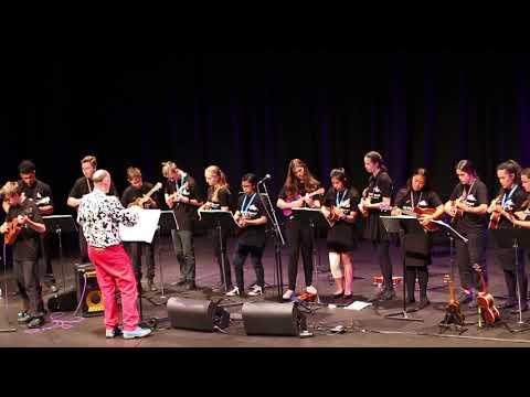 NZ Ukulele Senior Squad - Dorke - James Hill Concert support act