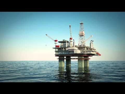 oil platform rig sea drilling