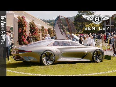 Quick look at the Bentley EXP 100 GT at Monterey Car Week