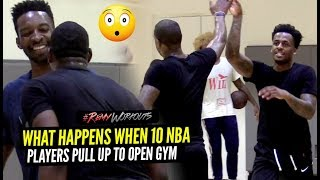 Dion Waiters, Derrick Jones, Bam Adebayo GO AT EACH OTHER at #RemyRuns!